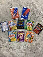 10 Packs of 1980's -1990's Baseball Card Wax Packs Sealed / Mint - Free Shipping