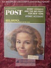 Saturday Evening POST November 6 1965 MISS AMERICA DEBBIE BRYANT TONY RANDALL