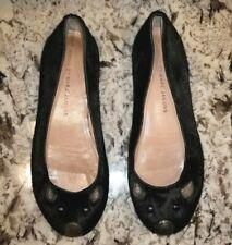 MARC BY MARC JACOBS Black Calf Hair Mouse Ballerina Flats Sz 5.5