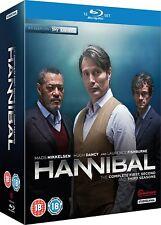 HANNIBAL 1-3 (2013-2015): FBI Lecter KIller Drama TV Season Series - RgB BLU-RAY