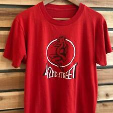 VTG 80s 42nd Street Pin Up Girl Sex Brothel New York SINGLE STITCH T Shirt M/L
