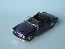 Matchbox VW Volkswagon Karmann Ghia Convertible Purple Toy Model Car 70mm