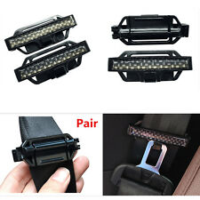 2x Car Seat Belt Adjust Strap Clips Seatbelt Lock Buckle Holder Tension Adjuster