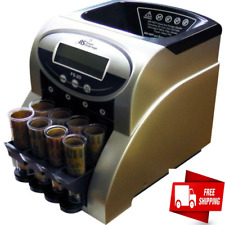 Commercial Coin Counter Sorter Machine Fast Sorting Digital Lcd Money Change