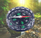 Filled Compass Liquid Survival New HOT Button Outdoor Camping Hiking Pocket