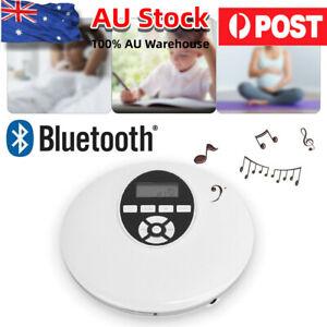 Portable Bluetooth CD Player AM/FM Radio Stereo Music LED Display Audio