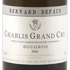 3 BT. CHABLIS GRAND CRU BOUGROS 2012 BERNARD DEFAIX