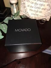 New MOVADO Watch Presentation Box Set