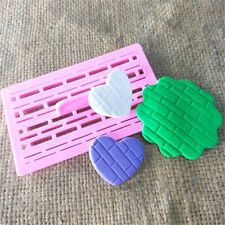Brick Wall Shape Fondant Cake Molds Cake Decorating Supplies Cupcake Wedding