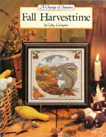 A Change of Seasons FALL HARVESTTIME Just Cross Stitch Cathy Livingston #169