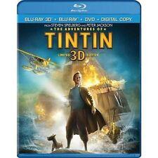 Adventures of TINTIN 3d - Blu-ray Region 1