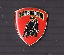 Lamborghini VINTAGE Emblem pin car badge Miura Uraco Espada Jarama Urraco #7...