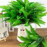 Grün Blätter Pflanzen Kunststoff Boston Farn Kunstpflanze Künstliche Dekoration