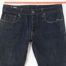 Mens G-Star ATTACC STRAIGHT Straight Blue Jeans W34 L26