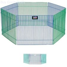 Small Animal Pet Playpen Exercise Large Play Area Gerbil Hamster Guinea Pig Rat
