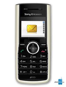 Phone Sony Ericsson J110i LOCKED TO VIRGIN BLACK & WHITE