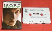 BOB DYLAN - UK CASSETTE TAPE - GREATEST HITS (BEST OF)
