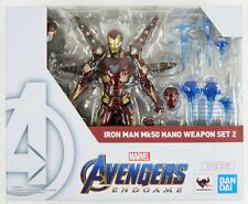 Avengers Endgame Iron Man Mk-50 Nano Weapon Set 2 S.H.Figuarts Bandai Mark 50