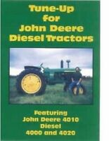 John Deere Tractor 4000 4020 4010 Tractor Engine Tune-up Shop Service VHS