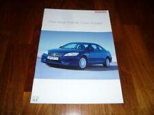 Honda Civic Coupe Prospekt 05/2004
