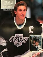 BECKETT HOCKEY MAGAZINE Issue #1 SEPT/OCT 1990 WAYNE GRETZKY