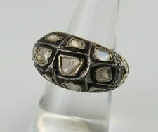 vermeil India antique mogul ring s 7 New ListingReal natural diamonds sterling silver gold