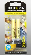 Liquid Skin Le Mieux Bandage Protection TRAVAIL pour Coupures & Ampoules 2 x 1g