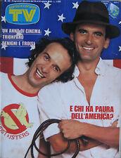SORRISI 33 1985 Benigni Massimo Troisi Bruce Springsteen Gianni Versace Cutugno