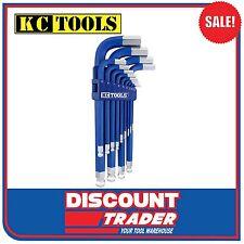 KC Tools Allen Key Jumbo Hex Key Wrench Set 13 Piece Metric - 10613