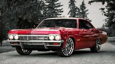 """Chevy Chevrolet Impala SS Car- 42"""" x 24"""" LARGE WALL POSTER PRINT NEW."""