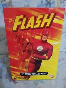"DC Direct THE FLASH 13"" Deluxe Collector Figure New In Box Rare HTF"