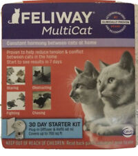 Feliway Multicat 30 Day Starter for Cats Plug In Diffuser & Refill 48 ml #1272