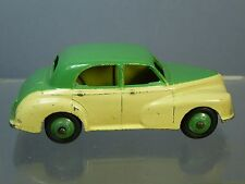 "VINTAGE DINKY MODEL  No.159 MORRIS OXFORD SALOON   ""TWO TONE"" CREAM / GREEN"