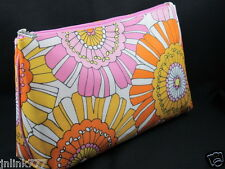 New Clinique Cosmetic Case from USA-Orange-Pink