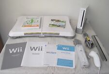 WII CONSOLE+WII FIT PLUS INCLUDING A FREE YEARS WARRANTY