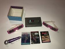 American Girl Doll pretend Dvd Player Movie Karaoke 3D glasses accessories lot