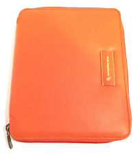 Mandarina Duck Zippered Leather iPad Case, Brand New with Tags