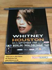 Whitney Houston Berlin concert poster