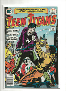TEEN TITANS 45 FN 6.0 DC Comics 1976 1st Karen Beecher Bumblebee Bronze Age Key