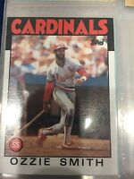 1986 Topps Ozzie Smith #730 Baseball Card