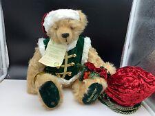 Hermann Teddy Bär Weihnachtsbär 2003. 42 cm. Limitiert. Unbespielt.