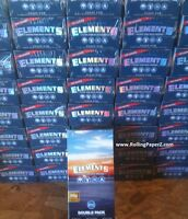 NEW! SEALED BOX! - SINGLE WIDE ELEMENTS Ultra Thin Rice Cigarette Rolling Papers