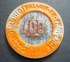 Casino Municipal Aix en Provence les Bains 100 Francs Jeton Rhône-Alpes/Franc al