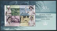 2004 COCOS ISLANDS ROYAL VISIT ANNIVERSARY MINISHEET FINE MINT MNH
