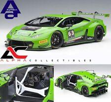 AUTOART 81529 1:18 LAMBORGHINI HURACAN GT3 GREEN #63 SUPERCAR