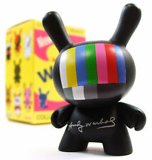 "Kidrobot ANDY WARHOL DUNNY SERIES - TDK TV Television 3"" Vinyl Figure Blind Box"