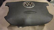 03-06 Volkswagen Passat-4-Spoke Driver-Wheel-Airbag-Black OEM NICE USED