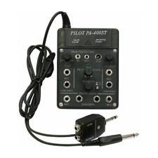 Pilot Communications - 4 Place Portable Stereo Aviation Intercom - PA-400ST