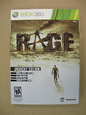 Rage Anarchy Edition - Xbox 360 Game - Complete & Tested