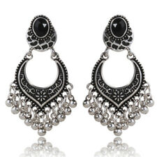 Gold/Silver Plated Charm Tassel Drop Dangle Earrings Jhumka Women Jewelry Gifts